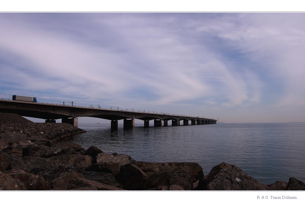 Blick auf die Storebælt-Brücke