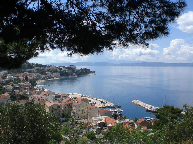 Blick auf ein Städtchen in Kroatien