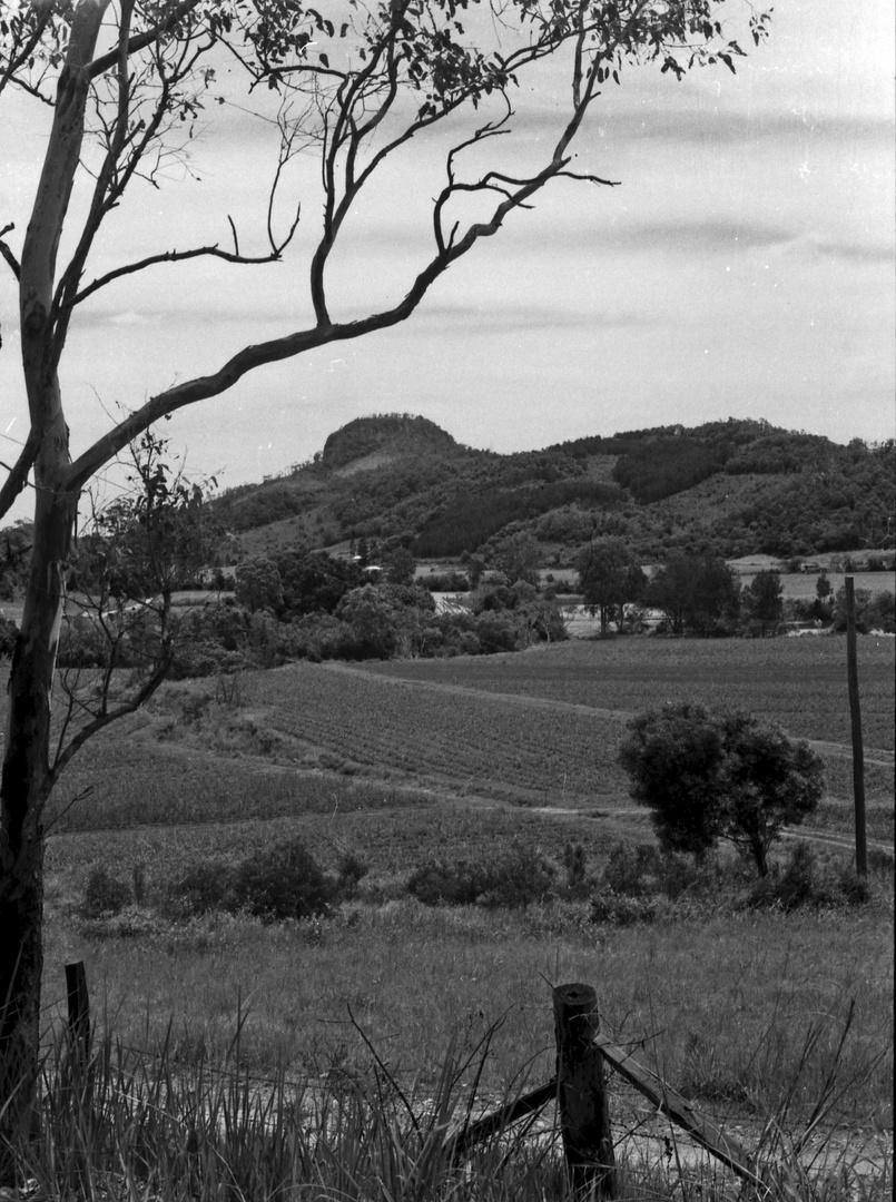 Blick auf einen der Glashous Mountains