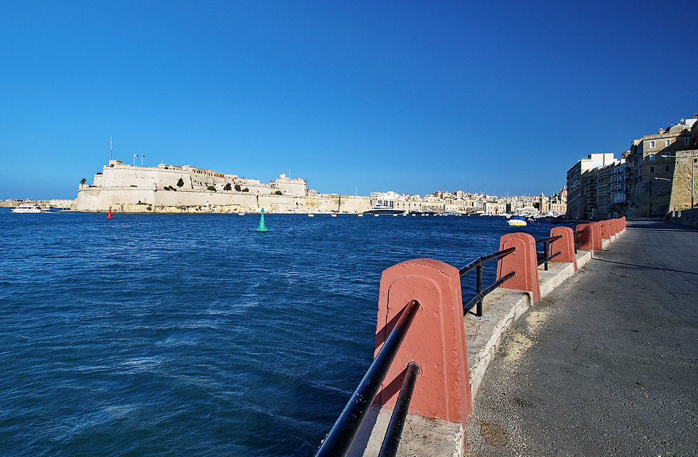 Blick auf Fort St. Angelo