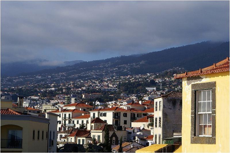 Blick auf Funchal...