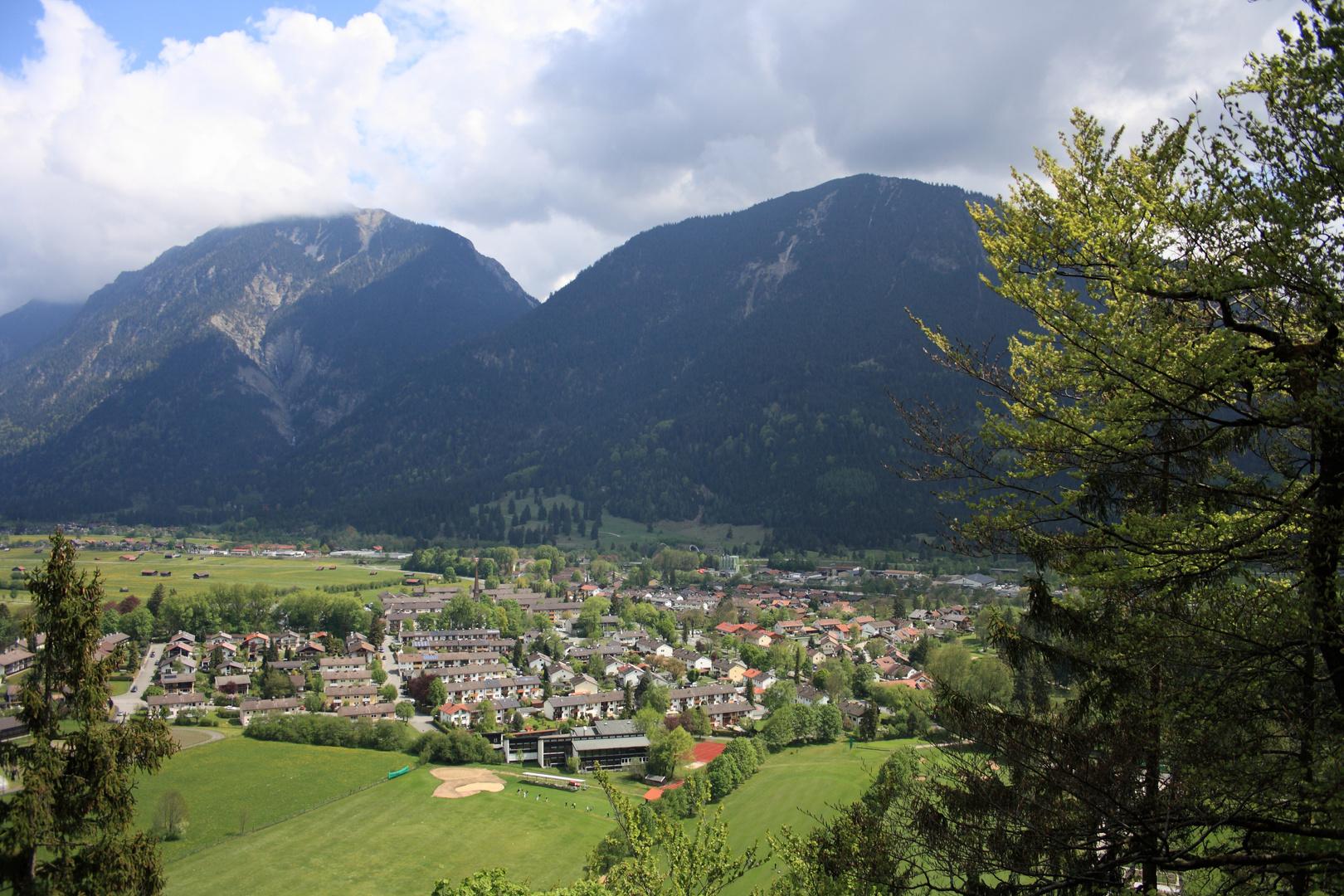 Blick auf Garmisch die 2te