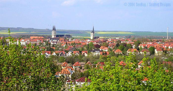 Blick auf Halberstadt