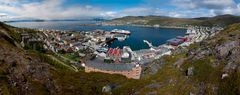 Blick auf Hammerfest
