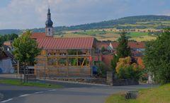 Blick auf Helmershausen, heute (vista a Helmershausen)