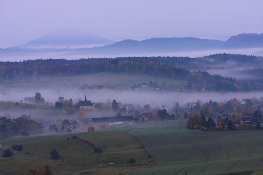 Blick auf Hinterhermsdorf