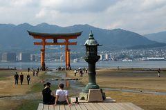 Blick auf Hiroshima