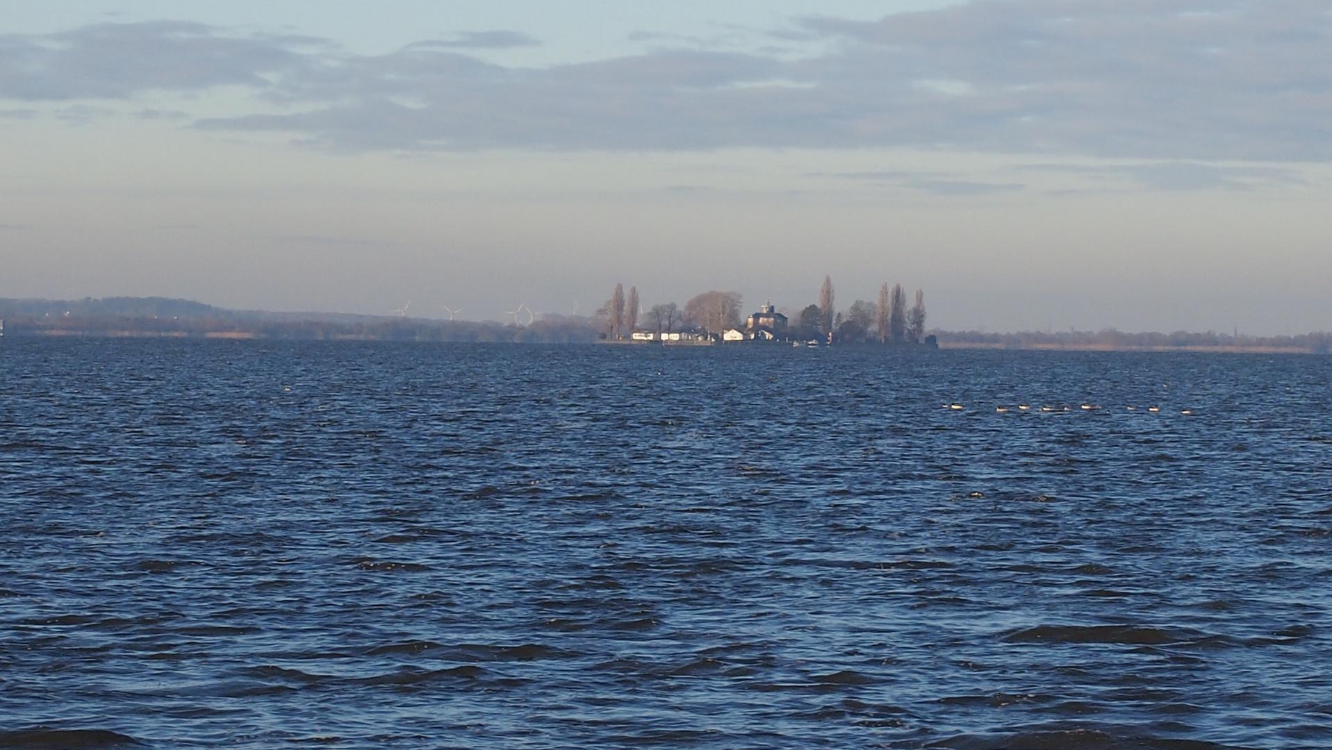 Blick auf Insel wilhelmstein