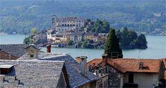 Blick auf Isola San Gulio