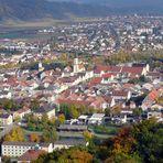 Blick auf Kelheim