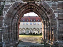 Blick auf Kloster Kirchberg