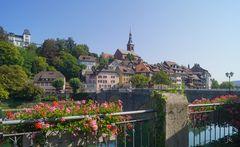 Blick auf Laufenburg (Baden)