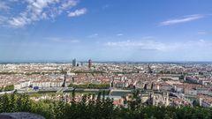 Blick auf Lyon
