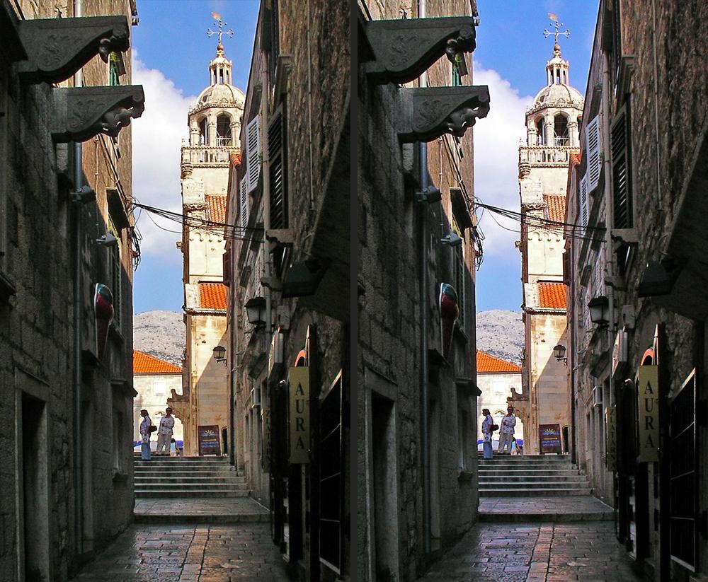 Blick auf Markus-Kathedrale