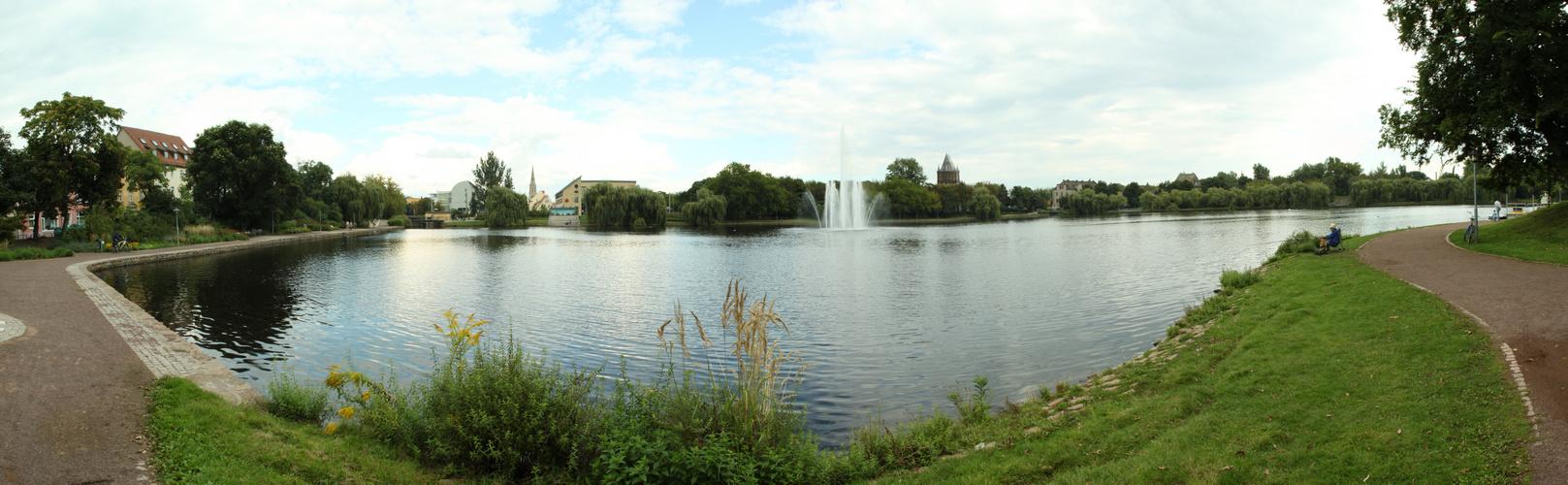 Blick auf Merseburg