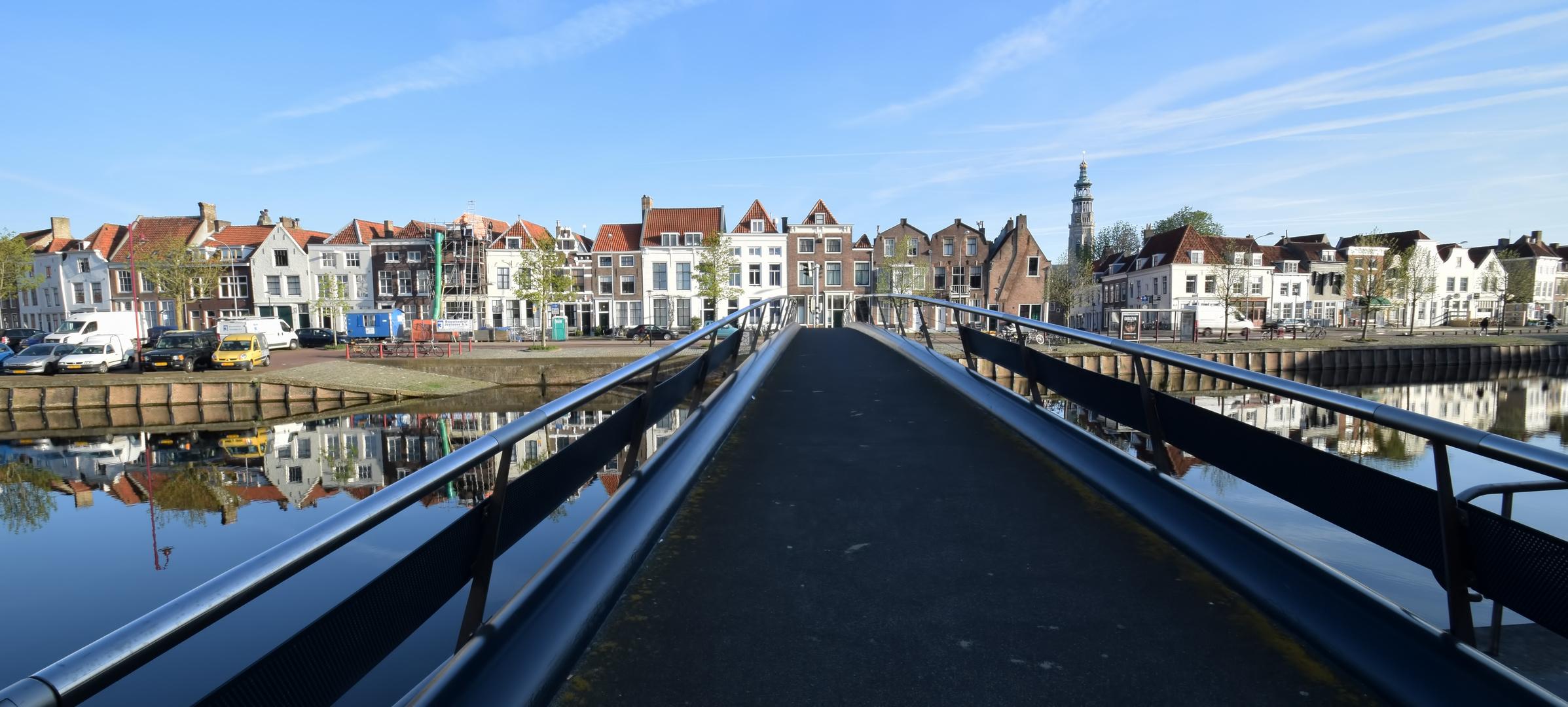 Blick auf Middelburg mit Lange Jan