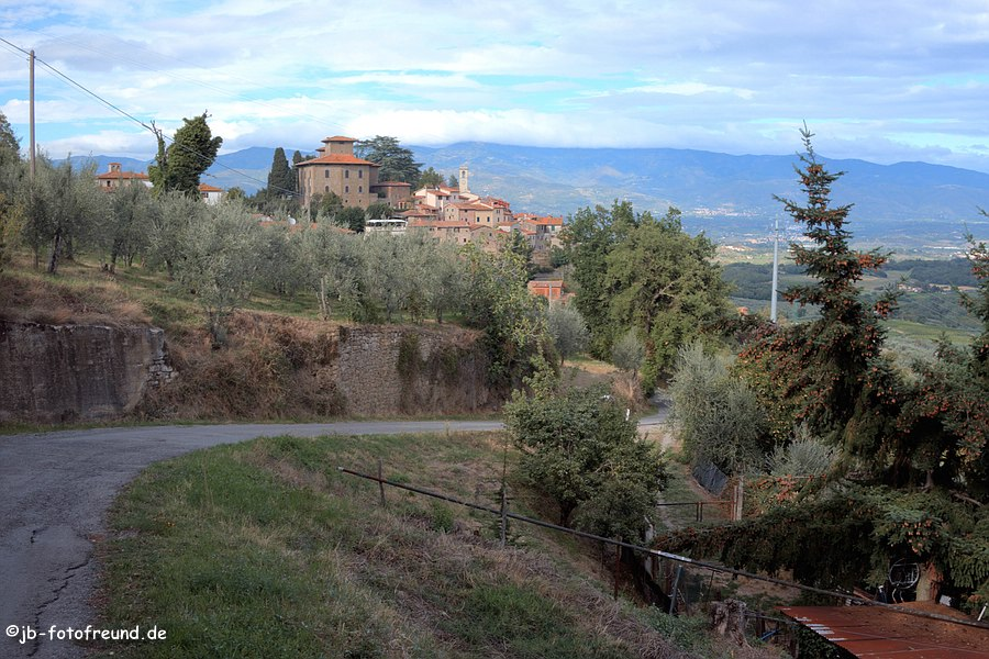 Blick auf Montegonzi
