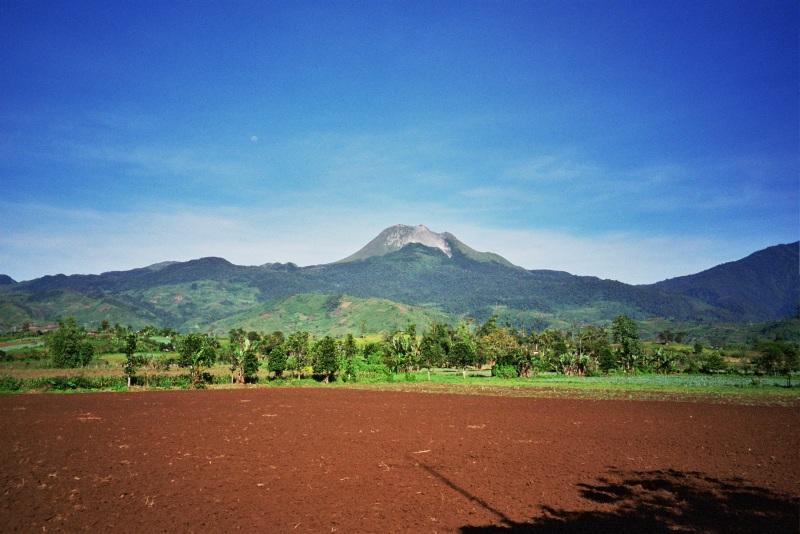 Blick auf Mount Apo
