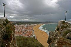 Blick auf Nazaré