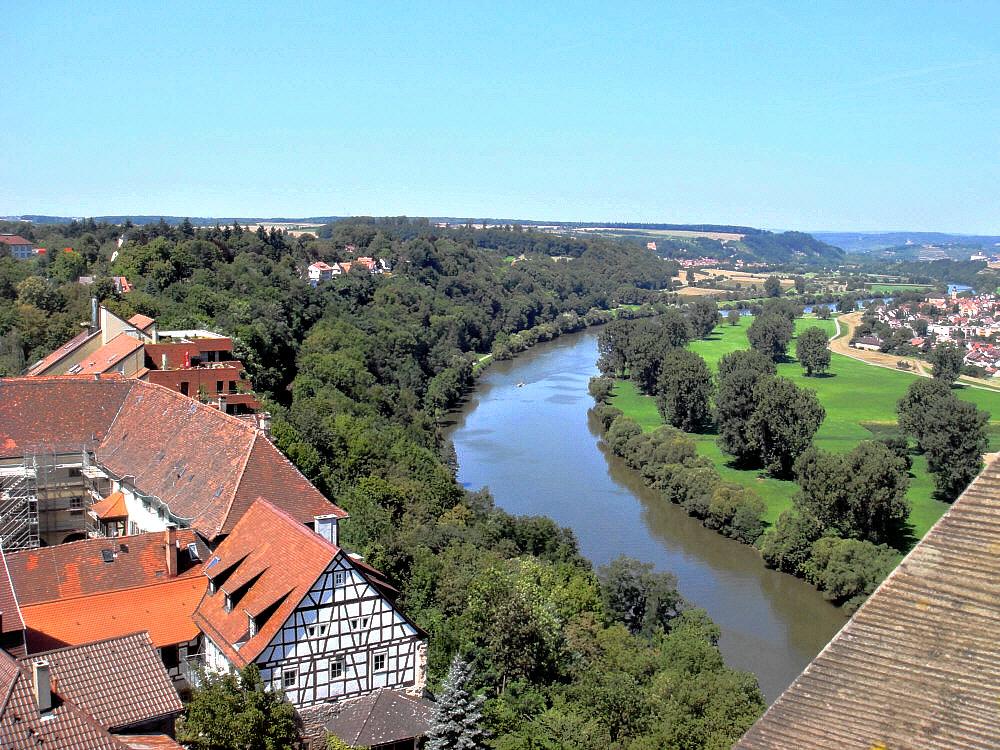 Blick auf Neckar 2