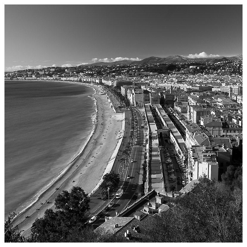 Blick auf Nizza