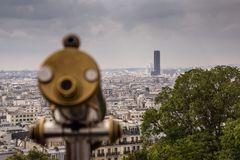 Blick auf Paris mit Montparnasse