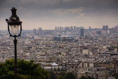 Blick auf Paris mit Pompidou