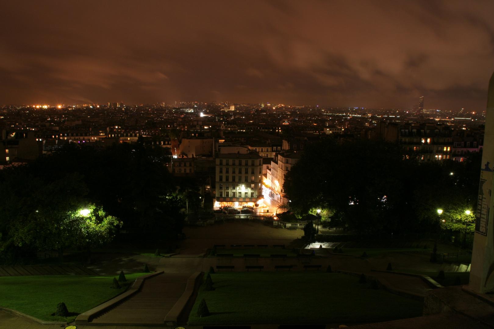 Blick auf Paris vom Montmartre