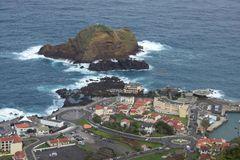 Blick auf Porto Moniz/Madeira