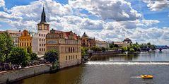Blick auf Prag an der Moldau, Czech Republic
