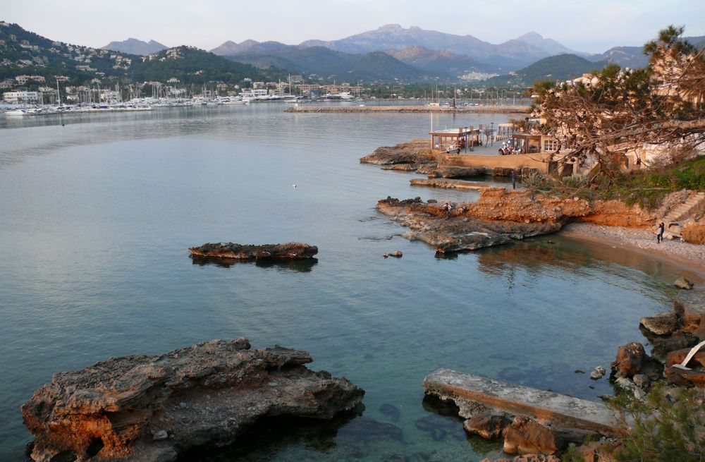Blick auf  Puerto Andratx