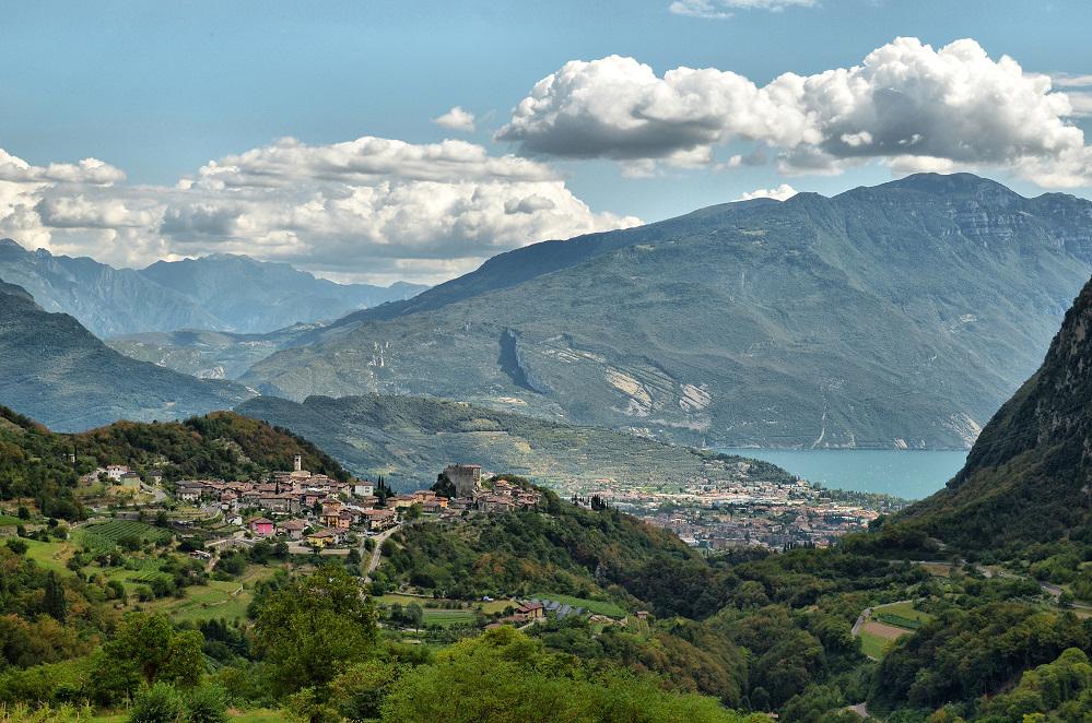 Blick auf Riva...