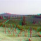 Blick auf San Gimignano, Toscana (3D+MPO-Link)
