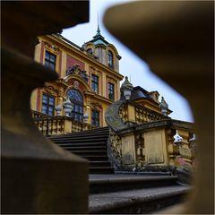 Blick auf Schloss Favorite Ludwigsburg
