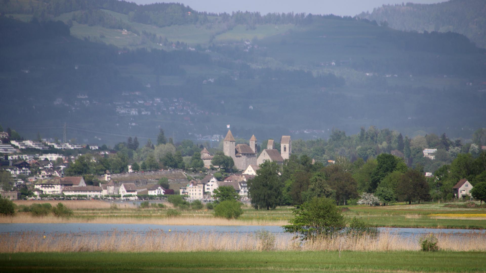 Blick auf Schloss Rapperswil