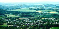 Blick auf Schwarzenbach a.d. Saale