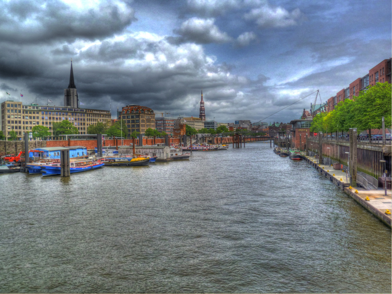 Blick auf Speicherstadt