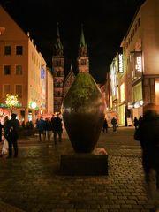 Blick auf St. Lorenz