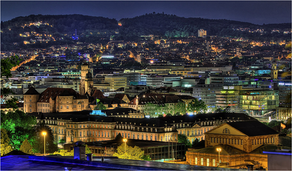 Blick auf Stuttgart (VI)