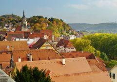 Blick auf Tübingen...