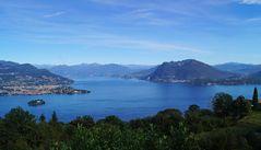 Blick auf Verbania/Lago Maggiore