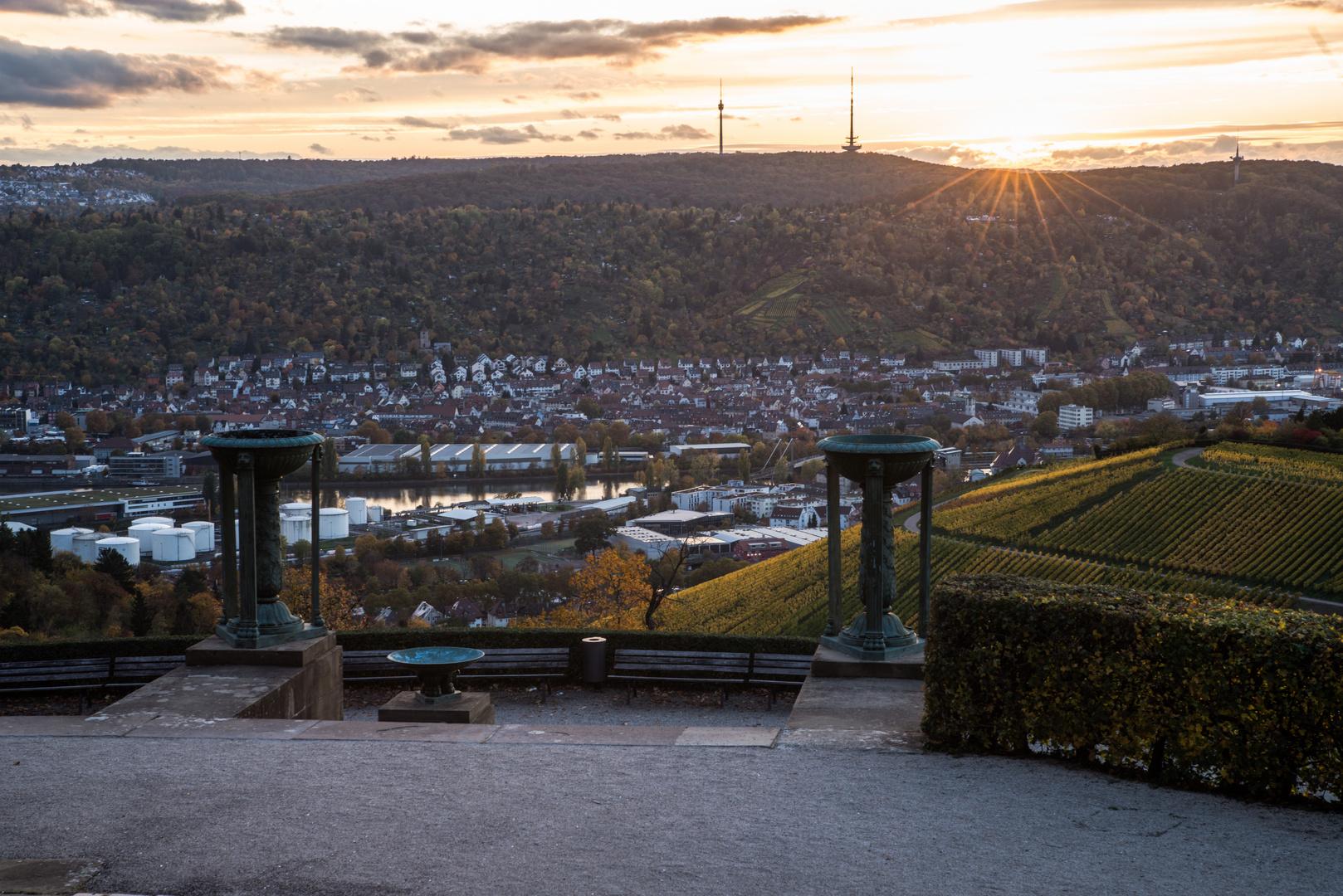 Blick auf`s Neckartal