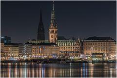 Blick aufs Rathaus