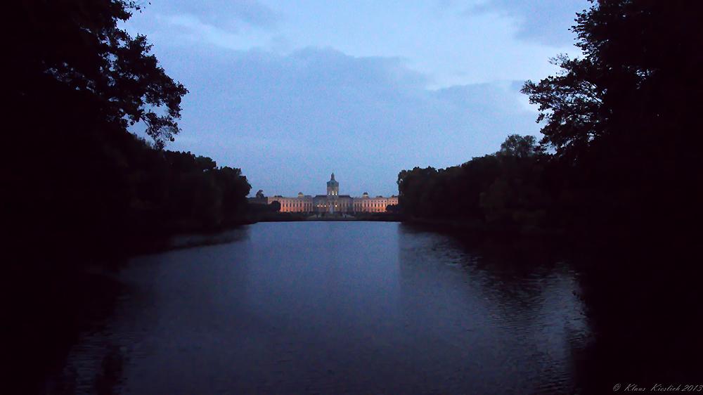 Blick auf`´s Schloss Charlottenburg