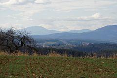 Blick aufs Wechselgebiet (Niederösterreich)
