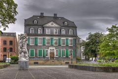 Blick aus dem Engelsgarten Wuppertal/Barmen