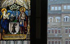 Blick aus dem Fenster des Basler Rathauses