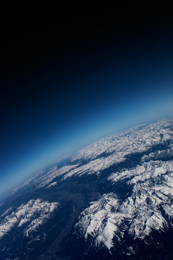 Blick Aus Dem Flugzeug Foto Bild Himmel Himmel Universum