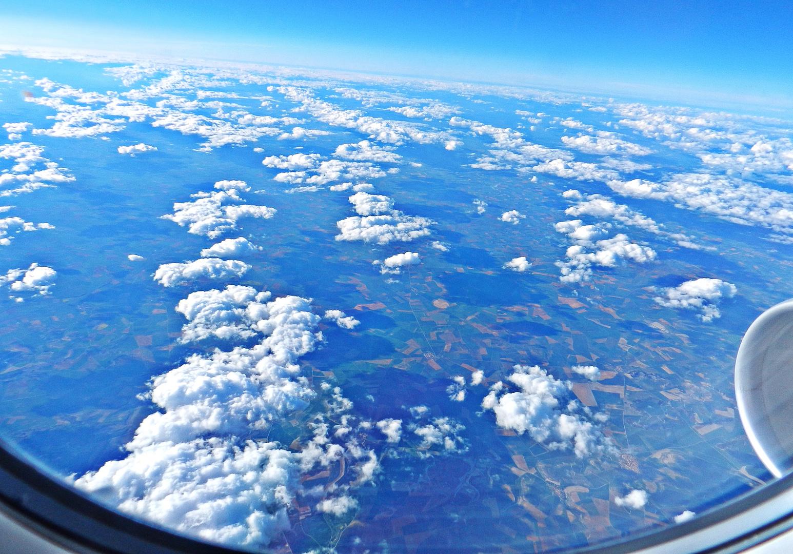 Blick Aus Dem Flugzeug Foto Bild Landschaft Landschaften Flug