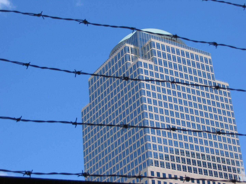 Blick aus dem Ground Zero 2007